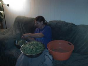 This is me in 2012 with part of my harvest.